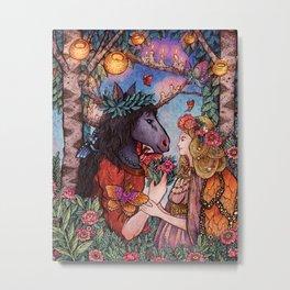 A Midsummer Nights Dream Metal Print