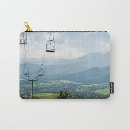 Mountain Cableway Carry-All Pouch