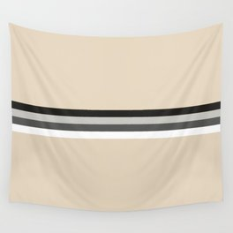 Doppelgaenger - Minimal Retro Look Stripes Wall Tapestry