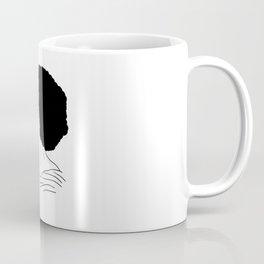 Fanny Eaton black outlines drawing Coffee Mug