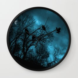 Night Wisdom Wall Clock