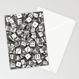 Dice Stationery Cards