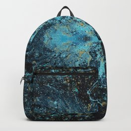Gold River Abstract Backpack