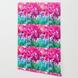 A Walk Among The Flowers No.7b by Kathy Morton Stanion Wallpaper