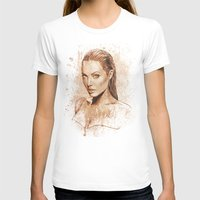 angelina jolie T-shirts featuring Angelina Jolie by Renato Cunha