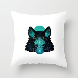 Can You Hear the Forest Whisper? Throw Pillow