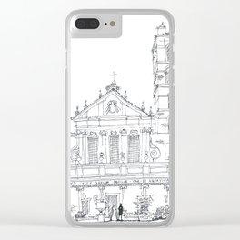 Basilica di Santa Cecilia in Trastevere Clear iPhone Case