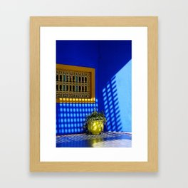 Shadows and reflections Framed Art Print