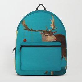 Low Poly Reindeer Backpack