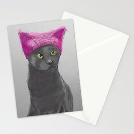 Pussy Hat Stationery Cards