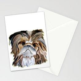 Pekingese Dog Love Dogs Stationery Cards