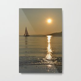 sailing in bodrum Metal Print