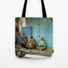 North African tea time Tote Bag
