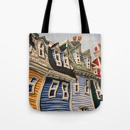 Prescott Street (Rooftops) Tote Bag