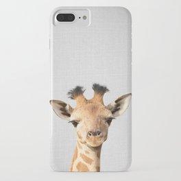 Baby Giraffe - Colorful iPhone Case