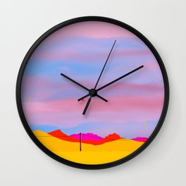 Out Here Wall Clock
