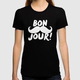 BONJOUR-Mustache T-shirt