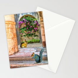The Simple Life – Painting – by Liane Wright Stationery Cards