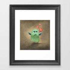 Hey Sweety Framed Art Print