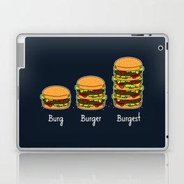 Burger explained 2. Burg. Burger. Burgest. Laptop & iPad Skin