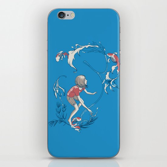 FISH AND WATER iPhone Skin