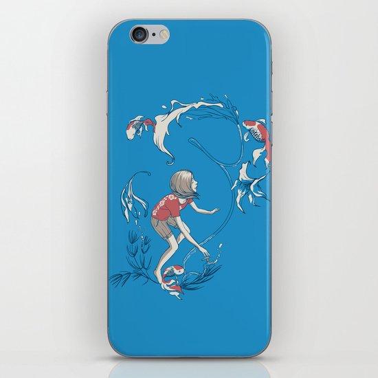 FISH AND WATER iPhone & iPod Skin