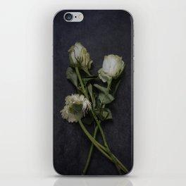 Wilting Flowers iPhone Skin