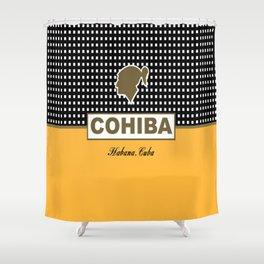 Cohiba habana cuba Shower Curtain