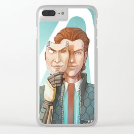 A Handsome Man Clear iPhone Case