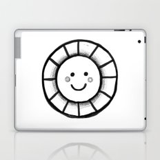 Sunny time smiley face Laptop & iPad Skin