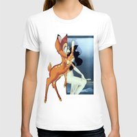 givenchy T-shirts featuring Givenchy Bambi by cvrcak