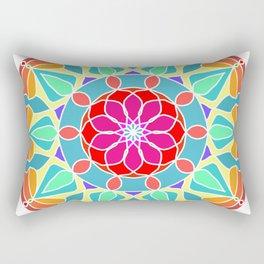 Soft colors mandala Rectangular Pillow