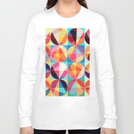 Circle pixelate Long Sleeve T-shirt