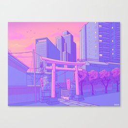 Roppongi Light Canvas Print