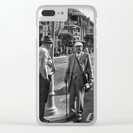 The Old Man Clear iPhone Case