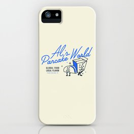 Al's Pancake World iPhone Case
