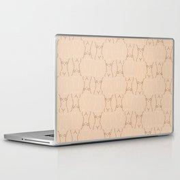 Nude, nudes line drawing/ pattern of female body Laptop & iPad Skin