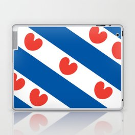 Flag of Friesland Laptop & iPad Skin