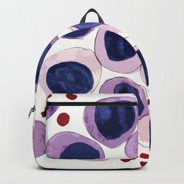 Blood Cells inspired illustration Backpack