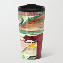 By the road side Travel Mug