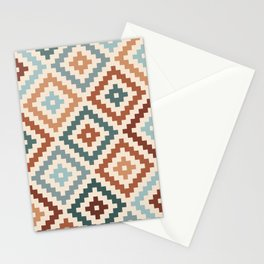 Aztec Block Symbol Ptn TCT Stationery Cards