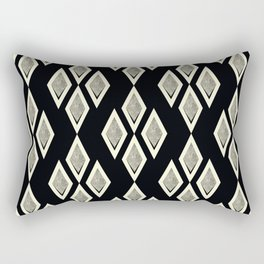 Black and cream ,classic Rectangular Pillow