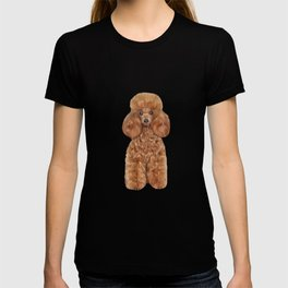 Drawing Toy poodle T-shirt