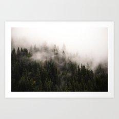 Clearwater Ridge II Art Print