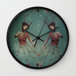 let your lovelights shine Wall Clock