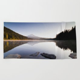 A Trillium Morning Beach Towel