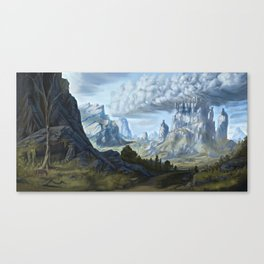 Old Bill and The Weathertop Canvas Print