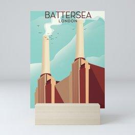 Battersea London Mini Art Print