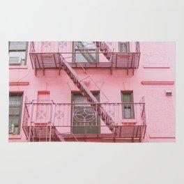 Pink Soho NYC Rug