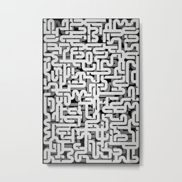 Convolute Metal Print